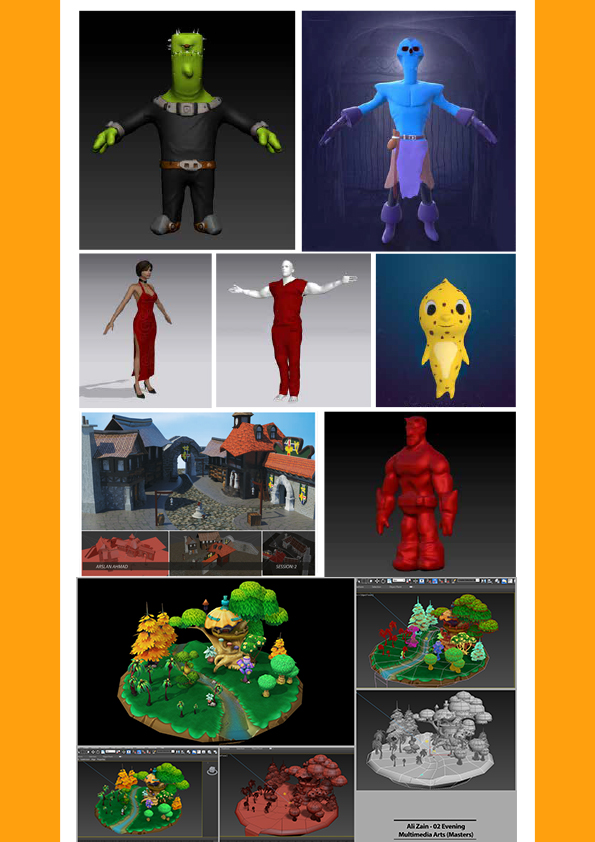 3D Artist for Games and Animation Assignments