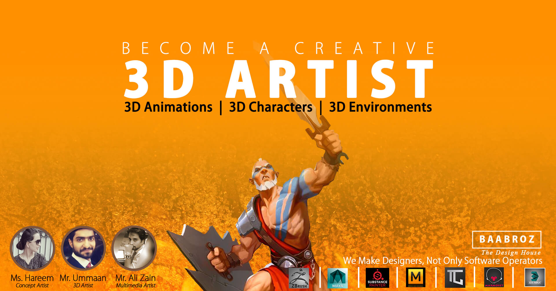 3d Animation Courses In Lahore Maya Animation Courses