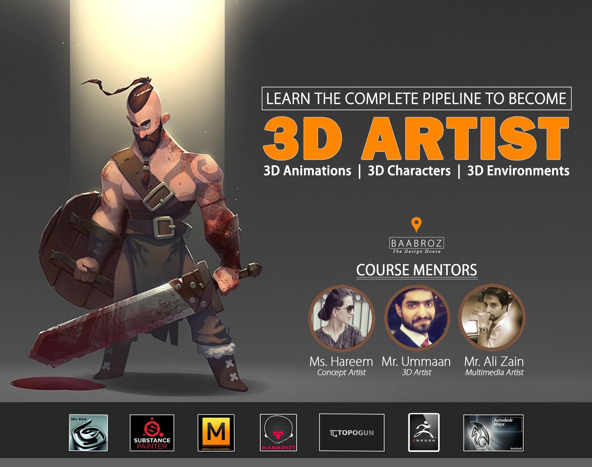 3d designing courses