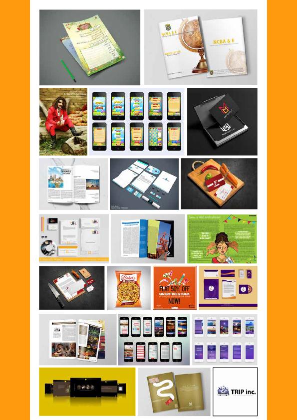 Graphic Design assignments