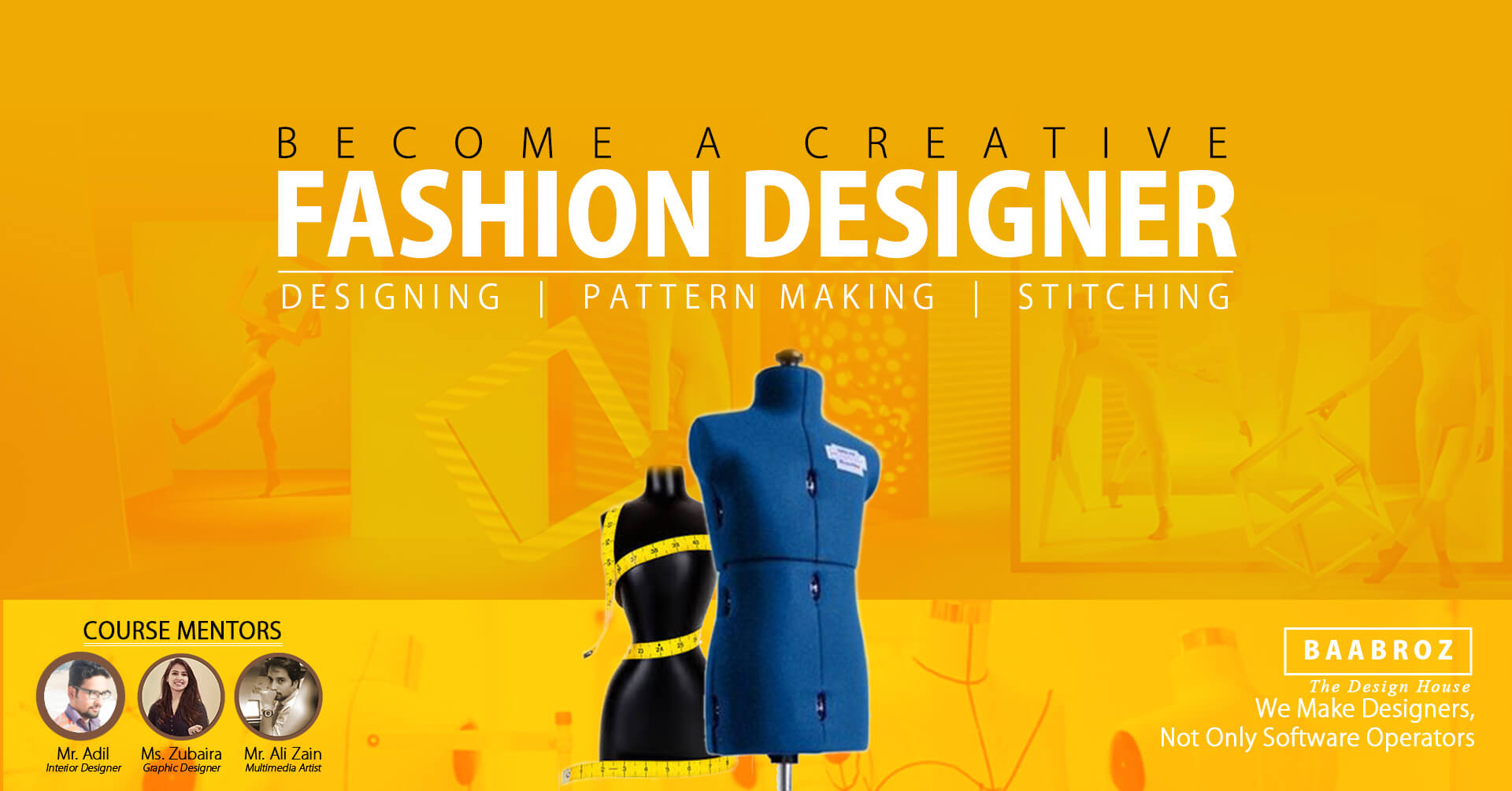 fashion designing courses in Lahore