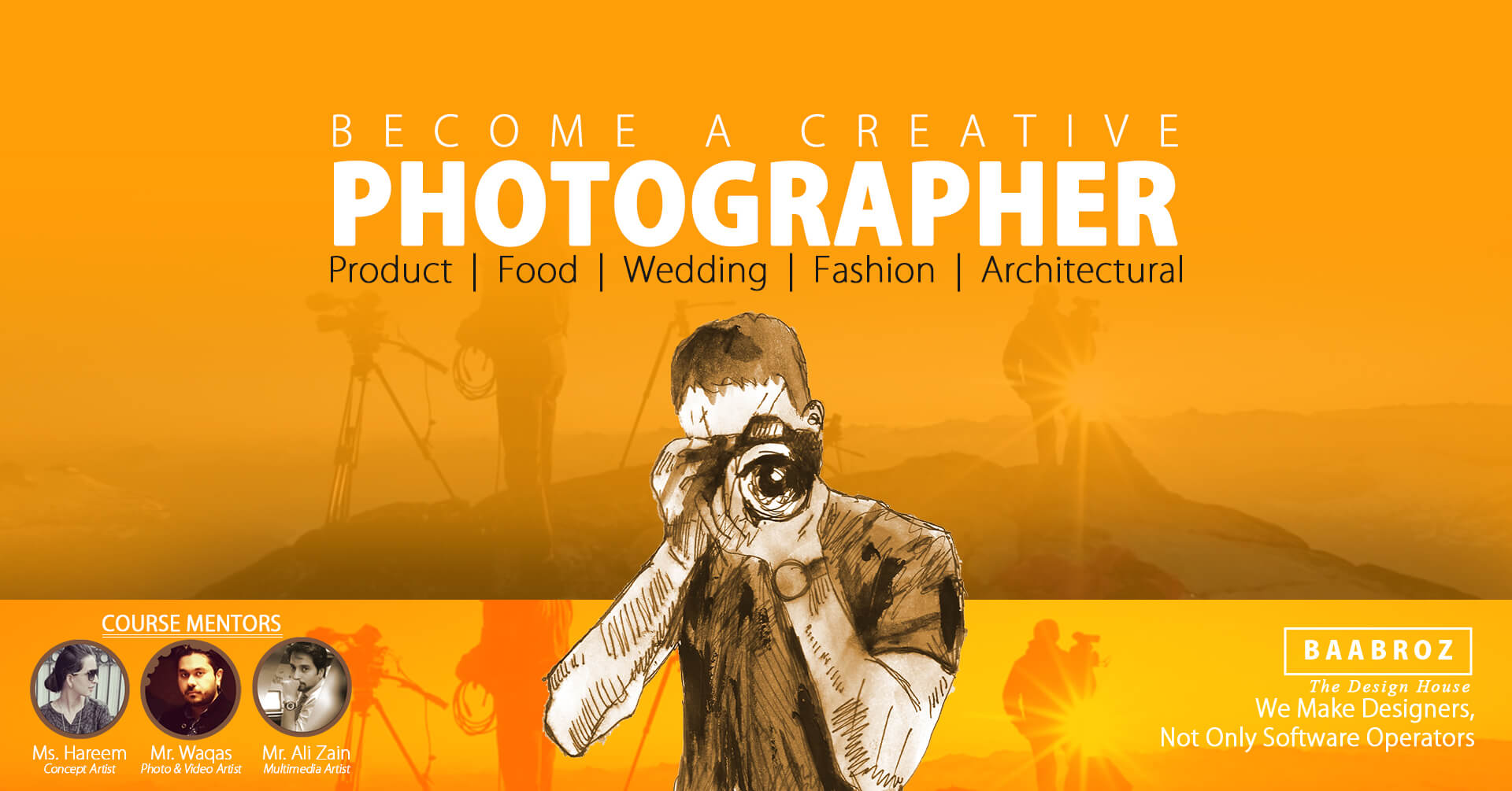 Photography Courses In Lahore Baabroz Photography Studio