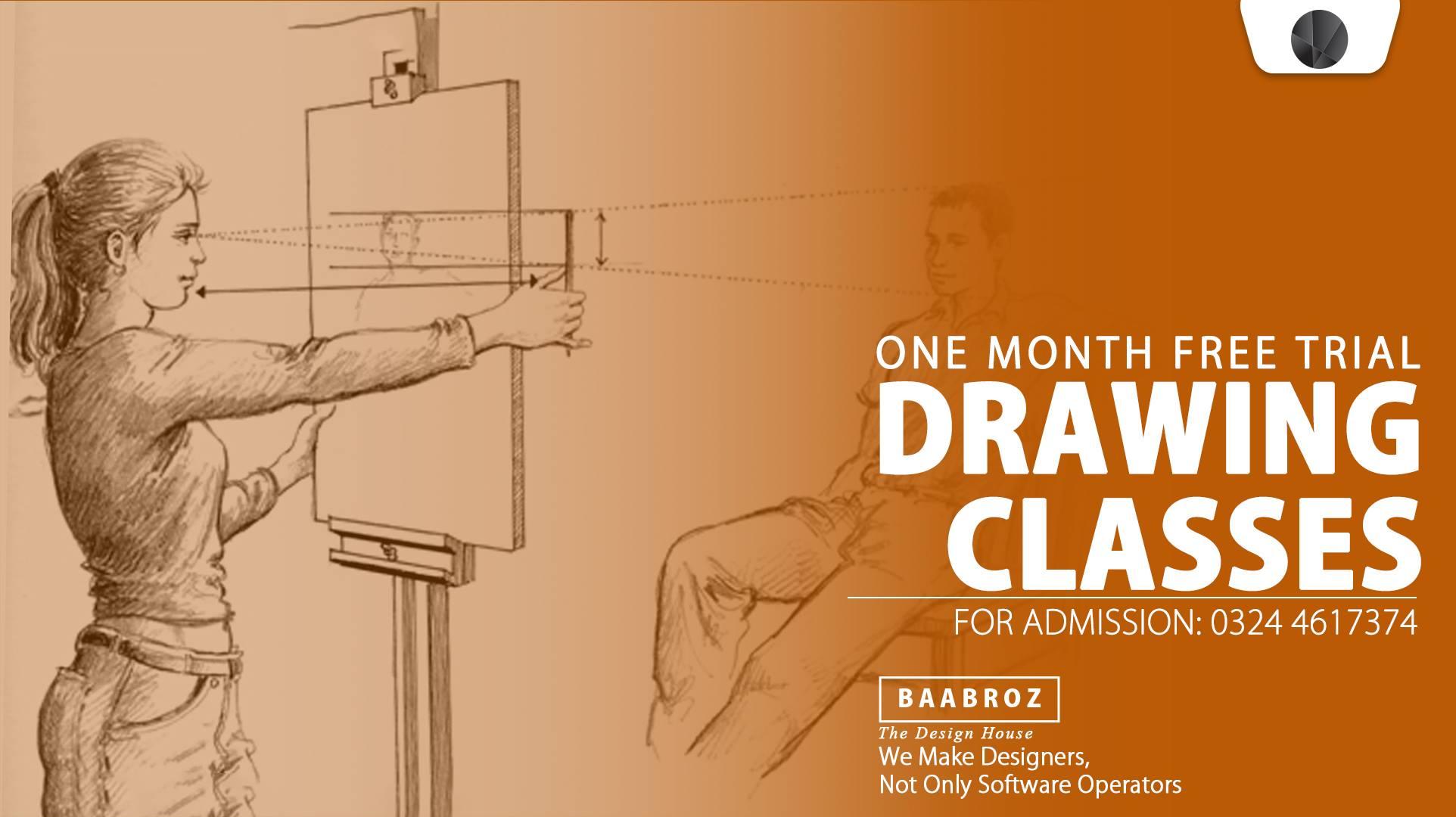 sketching classes in lahore