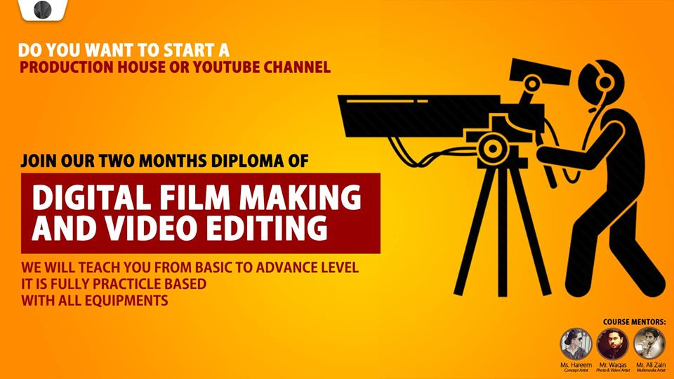 film making courses in Lahore